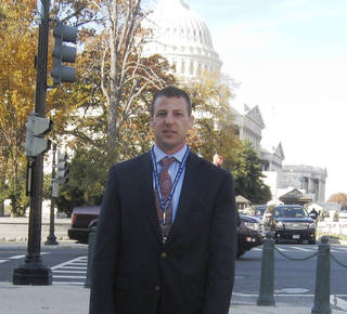 Rep.-elect Markwayne Mullin was on Capitol Hill last week for freshman orientation activities. Mullin will take office in January and represent Oklahoma's 2nd congressional district. Chris Casteel - The Oklahoman