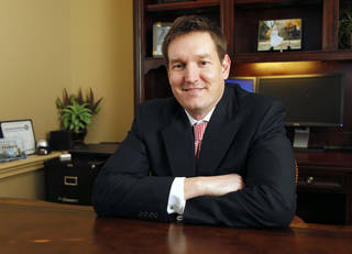 Todd Lechtenberger is the CEO of First Med Urgent Care in Edmond. Photo by Paul Hellstern, The Oklahoman PAUL HELLSTERN
