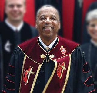 The Rev. Robert Hayes Jr., bishop of the Oklahoma Conference of the United Methodist Church Photo provided