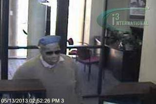 Authorities are searching for this man who robbed a northwest Oklahoma City bank Monday afternoon.