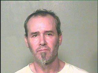 Joe Dale Dunlap, 44, was arrested on two indecent exposure complaints Wednesday.