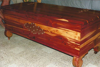 This cedar chest was made by the Lane Company. PHOTO PROVIDED