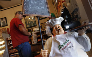 Lovera's Italian Market in Krebs, Oklahoma. Jim Beckel - THE OKLAHOMAN