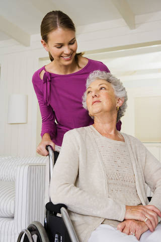 Some government programs and tax breaks may be available for family caregivers. Jupiterimages