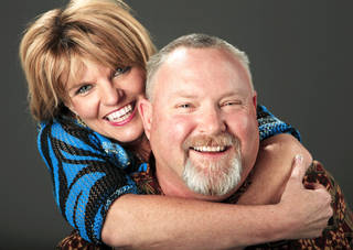 """Mary Ann Temple-Lee and Leonard Coffee were high school sweethearts and junior class officers who campaigned for Elmore City High School's first prom in 1980. They inspired the principal characters of the 1984 hit movie """"Footloose."""" They will be the guests of honor and parade marshals Saturday at an event celebrating the 30th anniversary of the first prom. PHOTO BY Jim Beckel, The Oklahoman"""