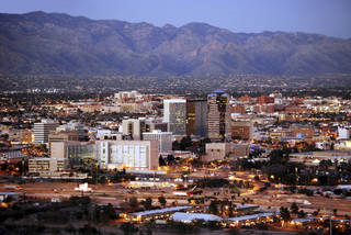 Want some better scenery and cheaper living now that you've stopped working? Tucson, Arizona, may be the spot for you. Boasting some beautiful mountains and landscapes, coupled with a cost of living well below the United States' national average, Tucson is home to many retirees — ranking as the top city in a list of cities with the happiest retirees on grandparents.com. (©istockphoto.com/Phototreat)