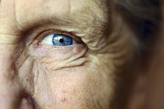 If someone wants to help an older friend or family member live a long life, encourage that senior citizen to get his or her eyes examined and take care of vision problems as they arise. (Maria Pavlova, ©istockphoto.com/ArtMarie)