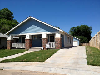 Qualifying potential home buyers could get $10,000 for a down payment to buy this houe at 110 NW 24 in Oklahoma City. Michael Kimball - The Oklahomoan