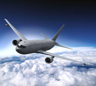 The KC-46A is intended to replace the U.S. Air Force's aging fleet of KC-135 Stratotankers and provides vital air refueling capability. Rendering provided by Kevin Flynn Kevin Flynn