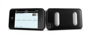 AliveCor Heart Monitor, which received FDA approval. PHOTO PROVIDED