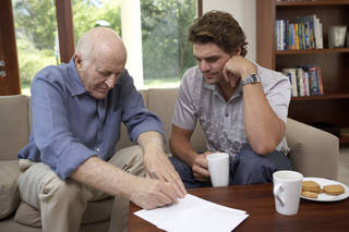 Savvy Senior recommends those with aging parents get a list of names and phone numbers of close friends, clergy, doctors, lawyer, accountant, and other important contacts. Pixland