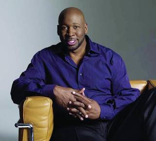 Wayman Tisdale, former OU and NBA basketball player and jazz musician ORG XMIT: 0906052224114535