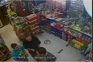 Oklahoma City police are looking for three men suspected in an assualt with a deadly weapon March 19. Photo provided.