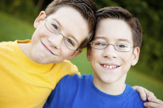 """Researchers compared pairs of identical twins and found that no matter how hard one twin had practiced up to that point in their life, the other twin who had practiced much less still had an equal level of ability in certain musical skills."" (Rosemarie Gearhart, ©istockphoto.com/ArtisticCaptures)"