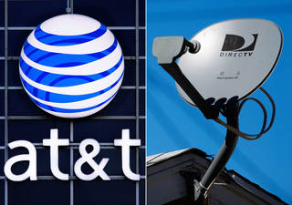 Priming itself for the age of Internet-delivered video, AT&T Inc. on Sunday said it would buy DirecTV for $48.5 billion in cash and stock, or $95 per share. AP Photo Seth Perlman, Reed Saxon - AP