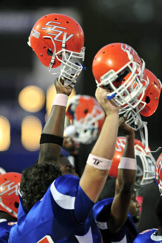 Savannah State University v. FAMU football in Savannah, Ga., Saturday, Oct. 15, 2011. (Photo/Stephen Morton)