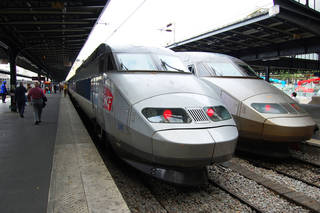 Europe's high-speed rail, such as this French bullet train, is so successful that one airline is considering getting into the business. Photo by Rick Steves Photo by Rick Steves