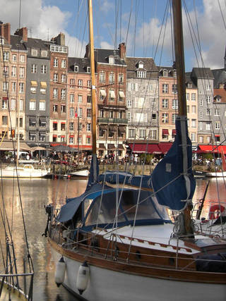 The port at Honfleur on the Seine is said to be one of the most beautiful in France. Photo courtesy of Patricia Woeber.