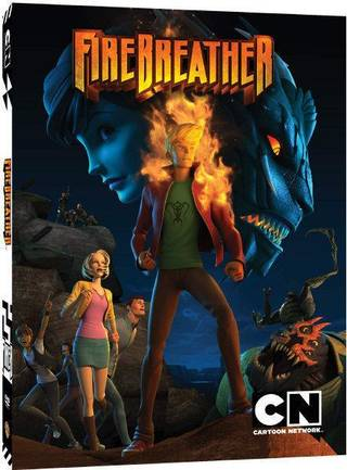 "The DVD cover to ""Firebreather."" Cartoon Network photo"