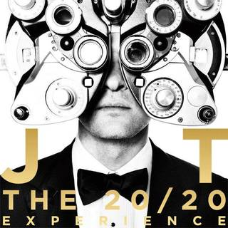 The album cover for Justin Timberlake's 'The 20/20 Experience.'