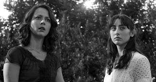 "Amy Acker and Jillian Morgese star in ""Much Ado About Nothing,"" directed by Joss Whedon. Elsa Guillet-Chapuis"