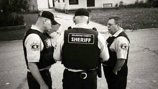 The Oklahoma County sheriff's office warrant team served warrants Wednesday. Photo provided PROVIDED