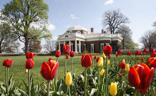 This April 2009 file photo shows former President Thomas Jefferson's home, Monticello, in Charlottesville, Va. AP file Photo Steve Helber