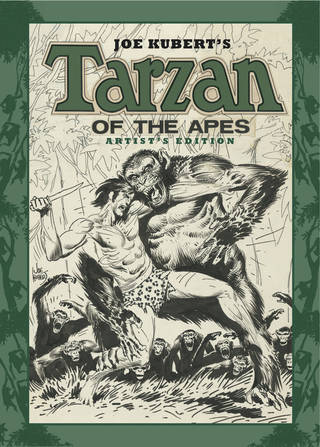 The cover to the Tarzan Artist's Edition. IDW Publishing