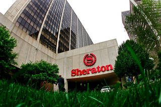 The Sheraton Hotel in downtown Oklahoma City on Monday, April 23, 2007 sOklahoman Archives Photo by CHRIS LANDSBERGER