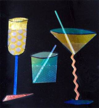"""""""Cocktails"""" by Nicki Albright. Photo provided."""