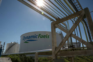 Dynamic Fuels LLC plant in Geismar, La., is a joint venture with between Tulsa-based Syntroleum Corp. and Tyson Foods to convert animal fats into biodiesel. Renewable Energy Group Inc. has struck a deal to purchase the facility. PHOTO PROVIDED - PHOTO PROVIDED