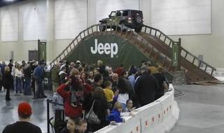 Camp Jeep is an indoor driving obstacle course which will be at this year's Oklahoma City International Auto Show. PHOTOs PROVIDED