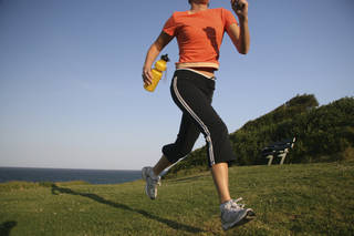 After weeks of running in the dark, I was given a rare chance to run in the daylight. As I made it toward the mountain, I was amazed how keenly aware I was of seeing, hearing, smelling, touching and even tasting. (©istockphoto.com/blublaf)