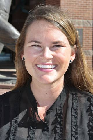 Mallory O'Neill is the new district manager with the Bricktown Association. David McDaniel - The Oklahoman
