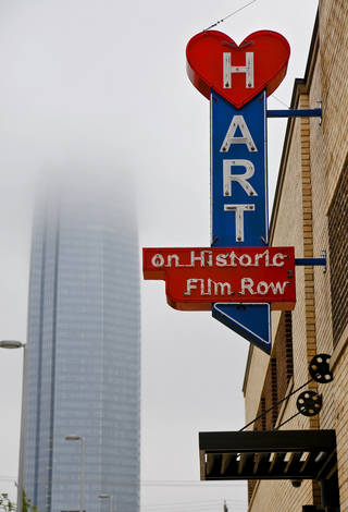 Part of the renovated Hart Building located in Historic Film Row in downtown Oklahoma City seen on Sept. 20. File Photo by Chris Landsberger, The Oklahoman CHRIS LANDSBERGER - CHRIS LANDSBERGER