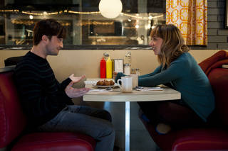 "Daniel Radcliffe and Zoe Kazan star in ""What If."" (Caitlin Cronenberg, CBS Films)"