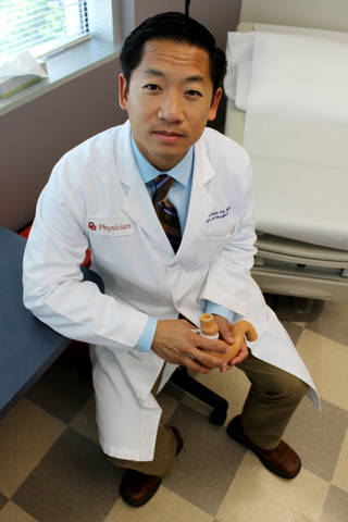 Dr. Hamilton Le, a bariatric surgeon at OU Physicians, is one of several doctors in the Oklahoma City metro area who performs weight-loss surgeries. photo by Jaclyn Cosgrove, The Oklahoman