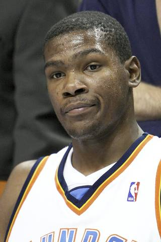 If you go by plus/minus, Kevin Durant had a horrible 2008-09 season. Photo BY HUGH SCOTT, THE OKLAHOMAN