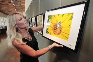 Shannon Price is the new director of the Fine Arts Institute of Edmond. Photo by David McDaniel, The Oklahoman David McDaniel - The Oklahoman