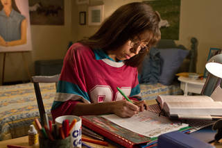 "This film publicity image released by CBS Films shows Aubrey Plaza portraying Brandy Klark in a scene from ""The To Do List."" The film, written and directed by Boise native Maggie Carey, revolves around a Boise teenager named Brandy Klark, a valedictorian of the Class of 1993. (AP Photo/CBS Films, Sam Urdank) Sam Urdank - AP"