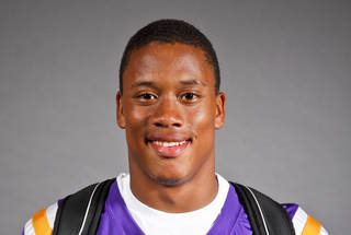 Terry Arnold, Northwest Classen, football, poses for a headshot at The Oklahoman's fall high school sports photo day at the OPUBCO building in Oklahoma city on Wednesday, Aug. 17, 2011. Photo by Zach Gray, The Oklahoman ORG XMIT: KOD