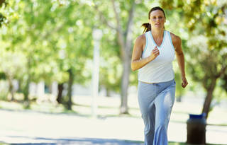 As a general rule, if you exercised before you were pregnant, it's healthy to continue, OMRF's Dr. Stephen Prescott says. George Doyle