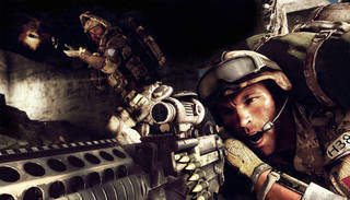 "A scene from the video game ""Medal of Honor: Warfighter"" is shown. AP Photo"