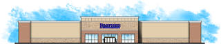 A drawing for the new Hemispheres store is shown. The new store will open near Quail Springs Mall.