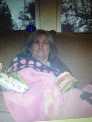 Karol Kenaston, 78, was last seen wearing a white polo shirt with light blue stripes, purple sweatpants and red sandals. - Photo courtesy of the Logan County Sheriff's office
