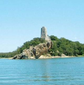 Tucker's Tower, one of the most visible spots at Lake Murray State Park south of Ardmore. (Daily Ardmoreite photo)