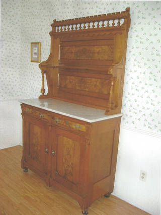 Eastlake sideboard was made in Victorian era. Photo provided