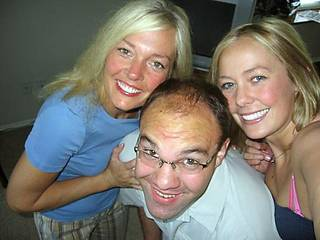 Diane Bucci, left, Mikey Bucci, center, and Susie Bucci pose for a photo shortly before Mikey's suicide. Photos provided