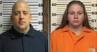 From left to right, Roy Hanthorn and Rhiannon Vantassell. Image via Tulsa World