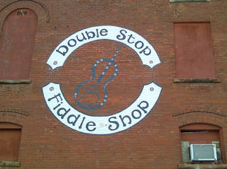 Long-time musician Byron Berline operates out of the Double Stop Fiddle Shop in Guthrie. PHOTO PROVIDED.